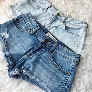 Bullhead Denim Shorts Bundle✨